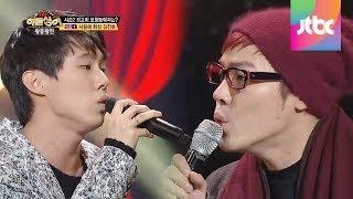 김진호 & 휘성의 듀엣곡 '사랑 그 몹쓸병' -히든싱어2 15회