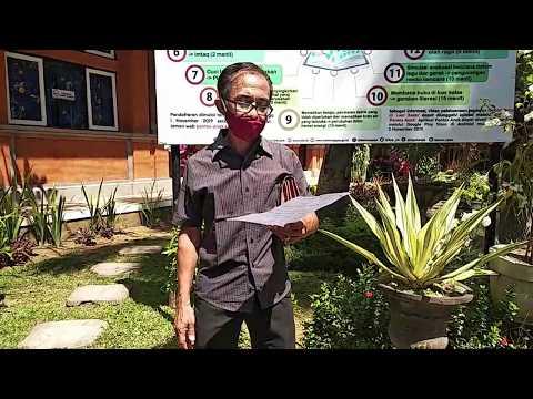 Serah Terima Siswa Oleh Ketua Komite SMA Negeri 1 Sukawati