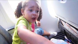 Kids React To First Flight On Airplane - Kids Singing Songs & Dancing | Toys AndMe