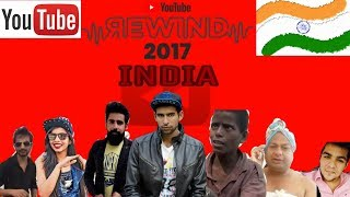 YouTube Rewind INDIA 2017 Spoof || HELLKING || ft. Ashish Chanchlani , Rishhsome #YouTubeRewind