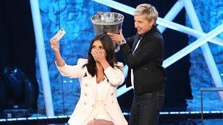 Kim Takes the Ice Bucket Challenge