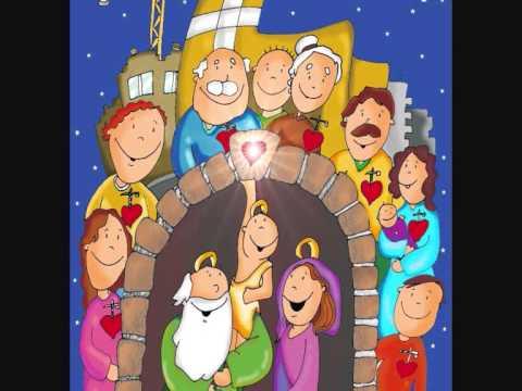 Adviento Navidad La Virgen sueña caminos