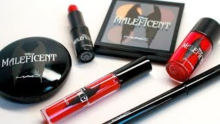 xsparkage – MAC MALEFICENT HAUL!! Quad, Lip Products, Beauty Powder!