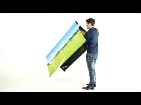 ExpandaBrand Wind Up A Frames How to set up and dismantle your promotional display