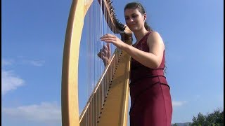 Despacito - Luis Fonsi - Harp cover by Evélina Simon - arpa - harpe