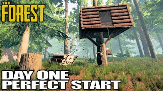 Sons of The Forest? Can't Wait, Let's Play The Forest   The Forest Gameplay   01