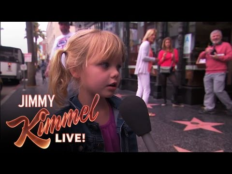 Kimmel Asks Kids