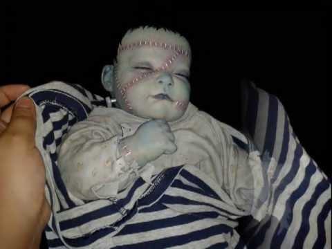 Horror Dolls En M 233 Xico Frankenstein S Monster Baby Sold