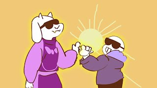 SANS AND TORIEL TEAM UP SO YOU CAN'T WATCH PAST 15 SECONDS WITHOUT LAUGING!? Undertale Animations