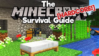 You Don't Need To Survive Your First Night ▫ The Hardcore Survival Guide [Ep.1] ▫ Minecraft 1.17