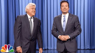 Jay Leno Returns to The Tonight Show to Tell a Few Monologue Jokes