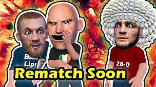 Conor McGregor & Dana White Pushing for Khabib Rematch