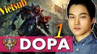 [Vietsub] Nghe Dopa Chia Sẽ Kinh Nghiệm Chơi Zed Để Leo Rank Cuối Mùa Nào - phần 1 - Dopa stream