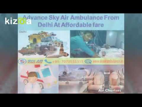 Sky Air Ambulance Services from Delhi with Best Medical Team