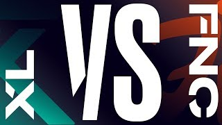 XL vs. FNC - Week 8 Day 2 | LEC Spring Split | exceL Esports vs. Fnatic (2019)
