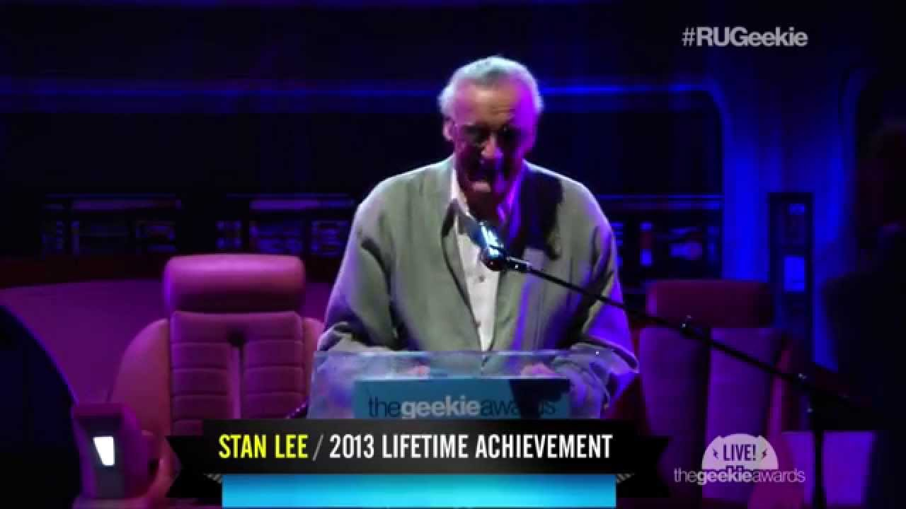 The Geekie Awards 2013: Seth Green Presents Stan Lee with the Lifetime Achievement Award