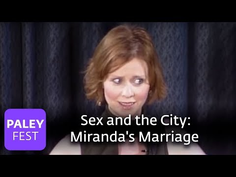 sex and the city cynthia nixon on miranda 39 s marriage paley center youtube. Black Bedroom Furniture Sets. Home Design Ideas