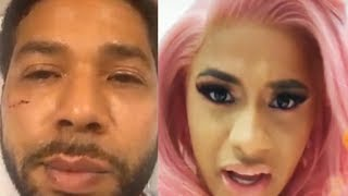 Cardi B Talks Jussie Smollett Case
