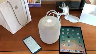 Apple HomePod Unboxing und erster Eindruck