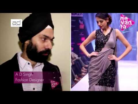 AD Singh Collection - Pune Style Week Fashion Show Interview - AD Sing Designs