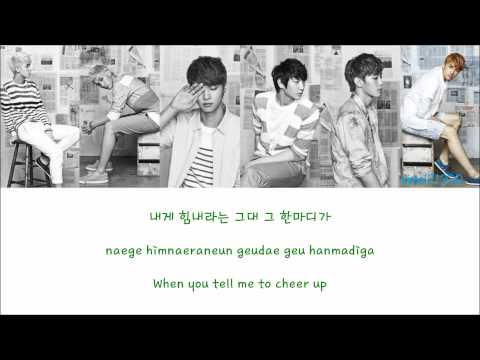 VIXX - Love Letter [Hangul/Romanization/English] Color & Picture Coded HD
