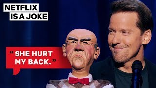 Jeff Dunham's Walter Is Suing His Wife | Netflix Is A Joke