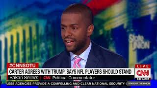 Jimmy Carter Agrees With Trump on NFL