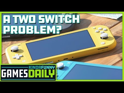 Setting Up a Nintendo Switch Lite Lifestyle - Kinda Funny Games Daily 07.11.19