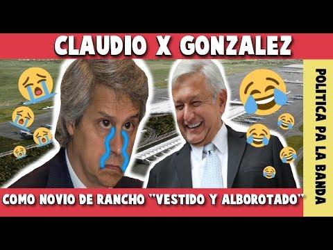 CLAUDIO X GONZALEZ LE DIO A LLENAR A AMLO, YA LE QUITO SUS AMPAROS