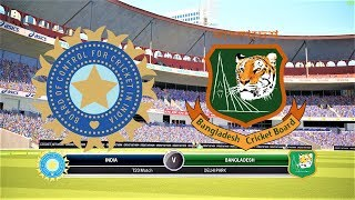 BANGLADESH VS INDIA 1ST T20 LIVE 2018 /ASHES CRICKET GAMEPLAY 1080P 60FPS//WI TOUR OF BD 2018