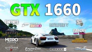 GeForce GTX 1660 Test in 12 Games