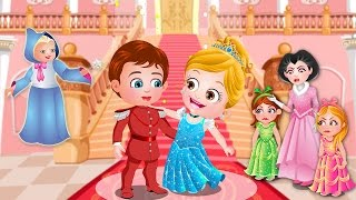 Cinderella Story | Fairy Tale Games For Kids By Baby Hazel Games | Part 1