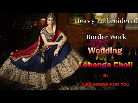 Wedding Lehenga Choli | Latest Designer Indian Lenghas & Party wear IndoWestern Lehengas for girls