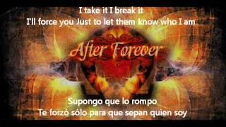 After Forever Who I Am Español E Ingles