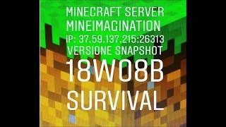 Server Minecraft ITA Snapshot Wb Acquatic Update SOLUZIONE BUG - Minecraft verstecken spielen server