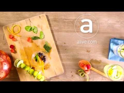 Infused Waters - recipe teaser