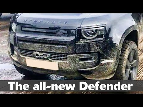 All-new Land Rover Defender Uncovered: Here's What To Expect From The 2020 Defender