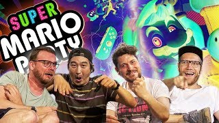 Super Competition bei Super Mario Party | Beanstag mit Simon, Etienne, Nils & Budi