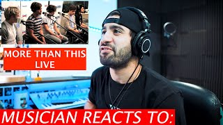 Musician Reacts To One Direction - More Than This