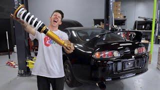 Slamming the Toyota Supra!!!
