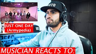 Musician Reacts To BTS - Just One Day - Armypedia