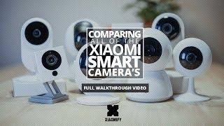 ALL Xiaomi Smart Cameras compared!