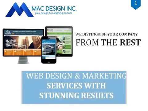 MAC Design Inc Professional Web Designers & Developers