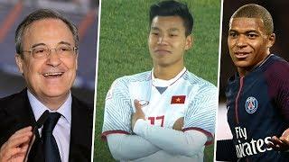 Phản ứng cực đáng yêu của Mbappe và Perez sau chiến tích U23 VN