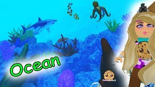 Amazing Under Water Life ! Ocean Animals + Hotel Stay - Roblox Cookie Swirl C Game Video