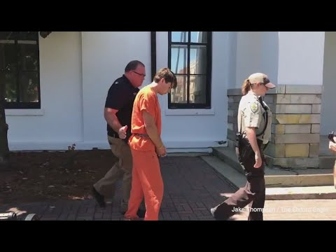 RAW: Fort Worth man charged in death of Ole Miss student handcuffed, escorted into police cruiser
