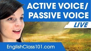 Active and Passive Verb Forms - Basic English Grammar