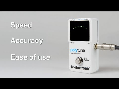This is PolyTune from TC Electronic! (HD)