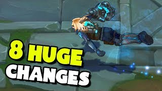 Top 8 HUGE Changes Coming To League of Legends!