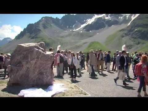 Inauguration de la Galerie de l'Alpe